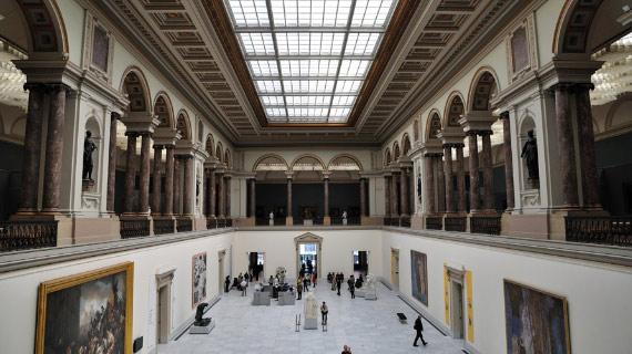 museo de artes antiguas en el tour en benelux