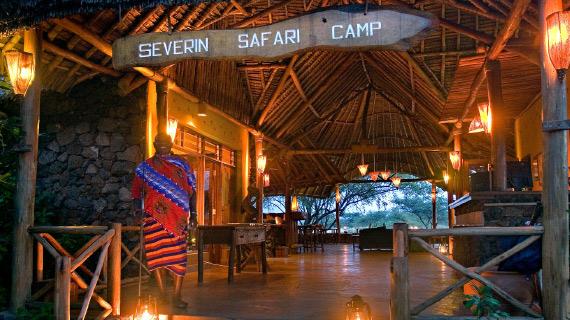 severin safari camp en el tour a africa