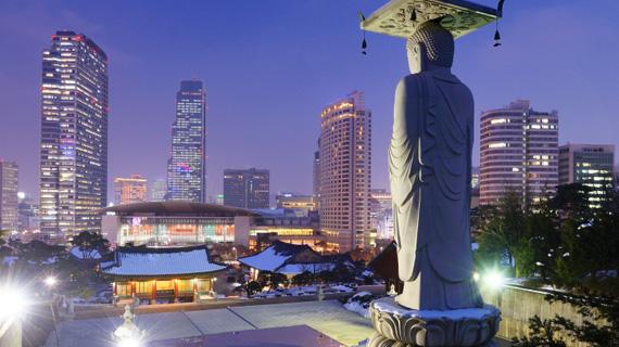 tour corea del sur arte