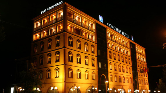 tour en armenia en el hotel best congress