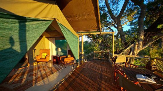 tour en botswana pom pom campamento