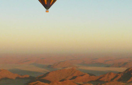 tour en namibia completo en globo aerostatico