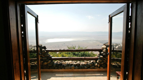tour en tanzania hospedaje en ngorongoro serena lodge