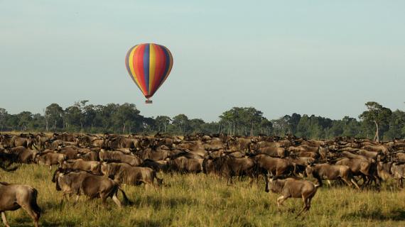 tours en amboseil kenia paseo en globo aerostatico