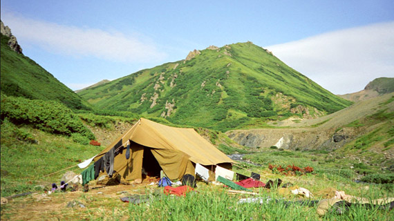 campamento kamchatka
