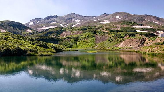 lago en kamchatka