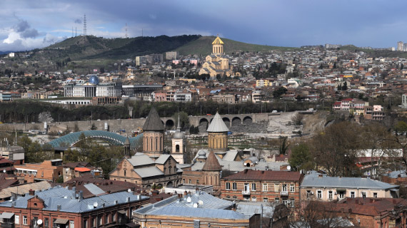 tiflis capital de georgia