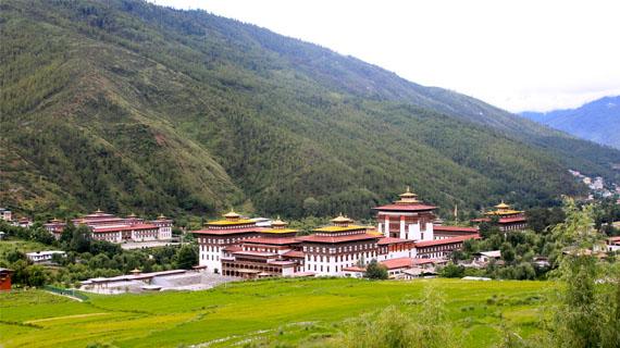 tours a trashi chhoe dzong