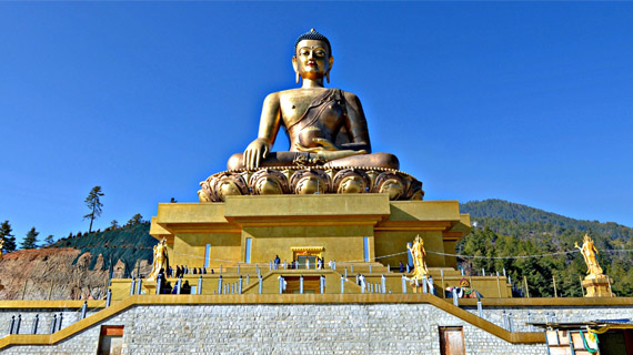 estatua thimphu buddha