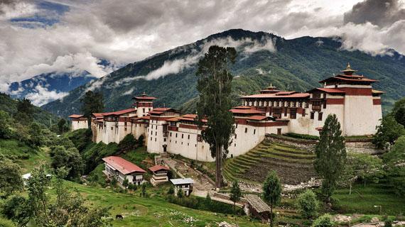 monasterio largo trongsa zong